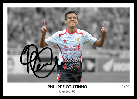 Philippe Coutinho Signed