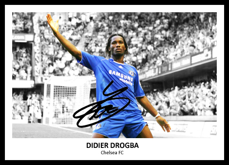 Didier Drogba Signed