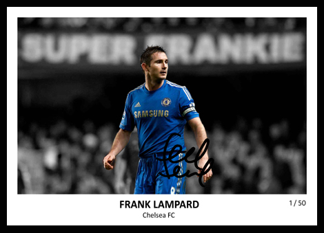 Frank Lampard Signed
