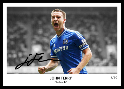 John Terry Signed